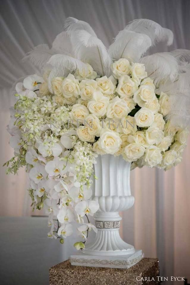 Wedding Flowers By Karen : Best images about mass flower arrangements weddings