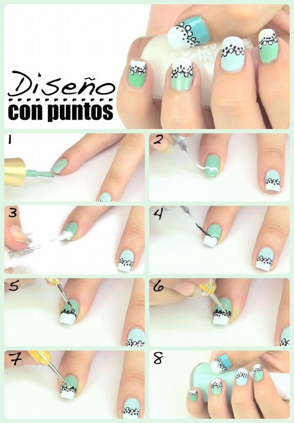 12 best Nails arts | Paso a paso images on Pinterest | Life hacks ...