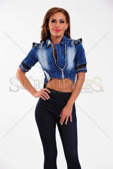 Jacheta Ocassion Iconic Look Blue