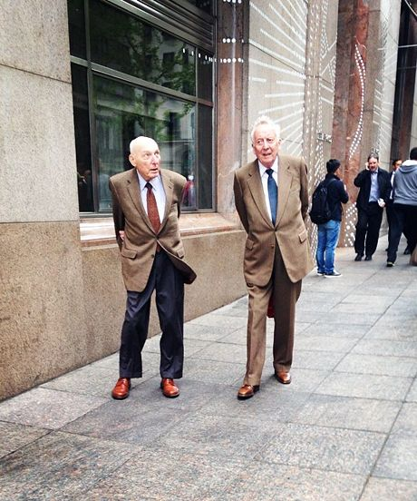 Fashion Grandpas Instagram - Advanced Style Photos