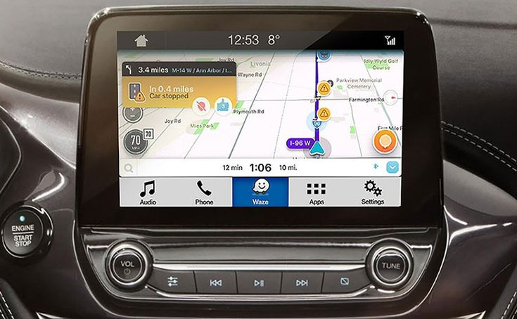 Waze estará disponible en la línea de vehículos Ford