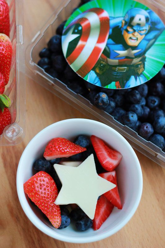 MARVEL Captain America Party Food