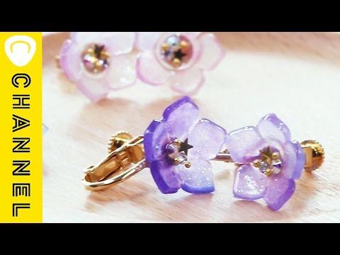 春だから♡可愛い花モチーフアクセサリーを作っちゃお!「プラバン編」♪ | Handful