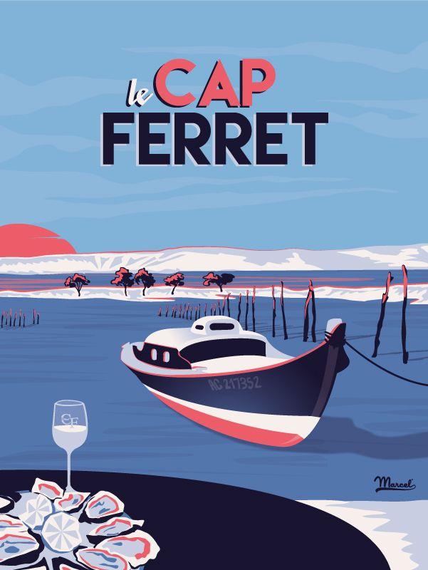 © Marcel Cap Ferret LE MIMBEAU www.marcel-biarritz.com