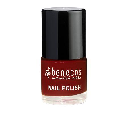 Benecos 5free Nagellack, Kirsche Rot, 9 ml
