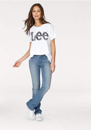 LEE – Logo tee white