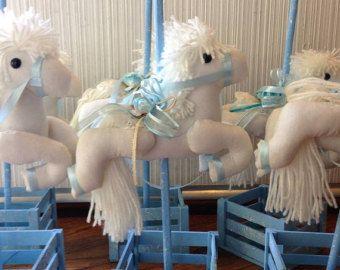 Baby Shower Diapers Centerpiece with Balloon door designsbyemilys