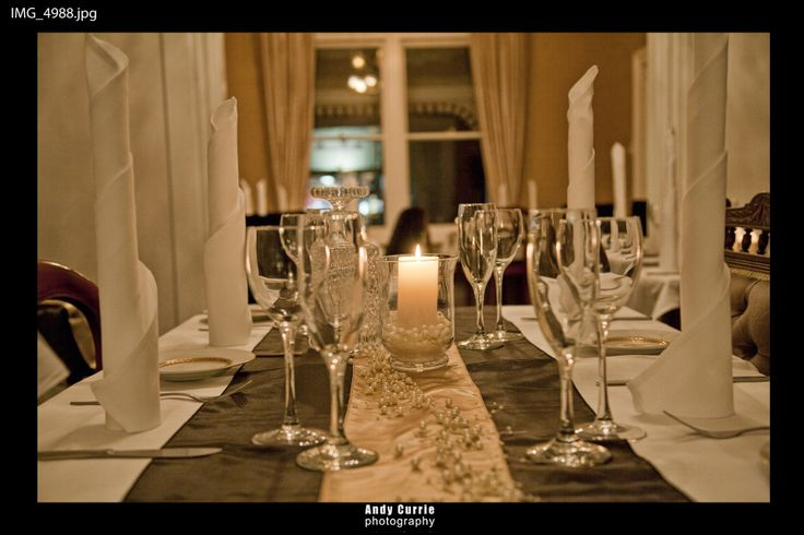 A table set up for a special occassion