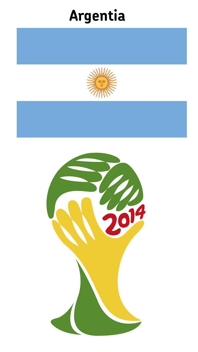 FIFA World Cup 2014 – Argentia | Download iphone 5 Wallpapers, Wallpaper iphone 5