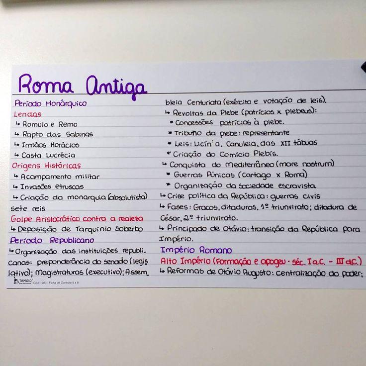 Resumo de História Geral : Roma Antiga