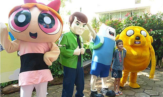Rio Quente tem programação com personagens do Cartoon Network em janeiro :: Jacytan Melo Passagens