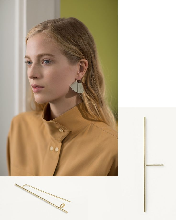 Geometric Finery / Los Angeles-based designer Kathleen Whitaker launched her line of fine jewelry in 2003, garnering a fast following for her minimal, geometric designs crafted from the finest materials. With a finely tuned sense of line and form,...