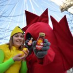 Maple Syrup was a hit with London commuters!