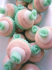 CUPCAKE verde acqua/tiffany