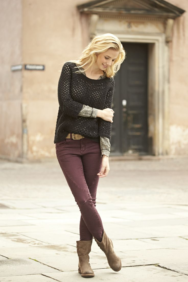 Beautiful cuts on jeans!