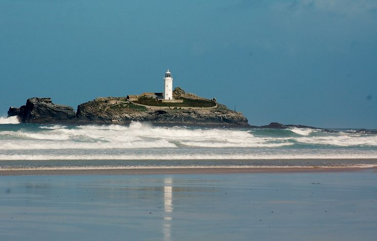 Godrevy Lighthouse by Tony Adams. #Cornwall #Coast