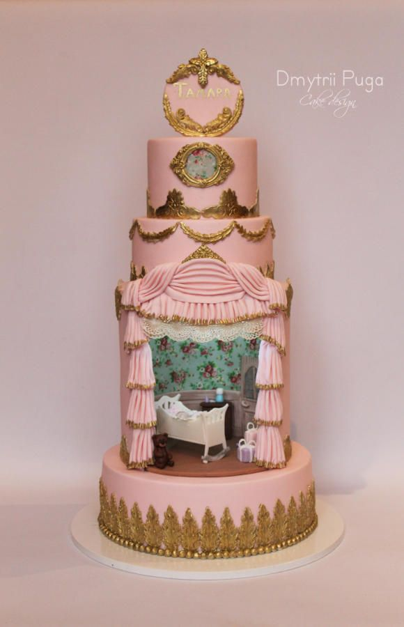 Cake with a room  for Tamara by Dmytrii Puga