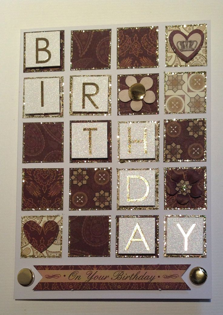 Card designed by Julie Hickey using Opulence collection.