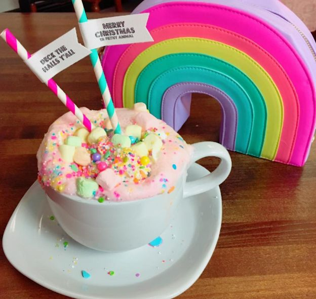 Unicorn hot chocolate is the majestic and magical drink that will cure your winter blues.