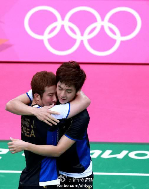 Lee Yong Dae/Chung Jae Sung, Olympic Games 3rd Place match 2012
