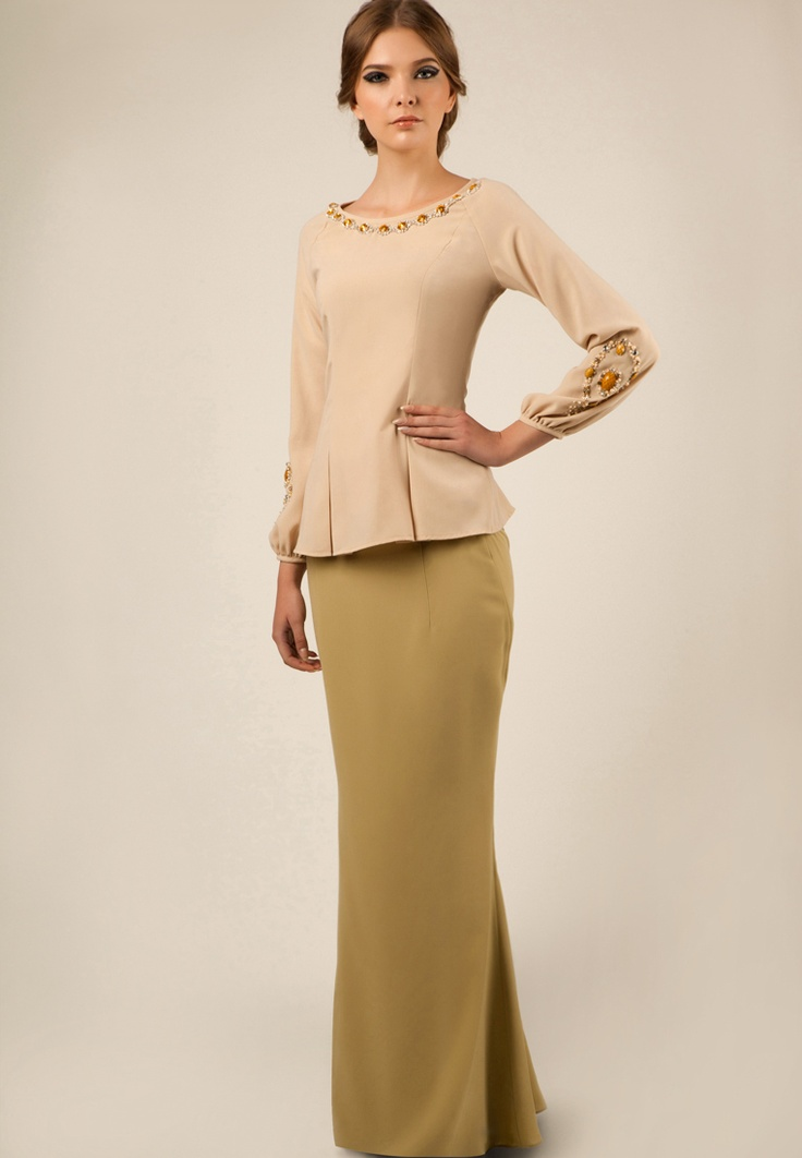 Fesyen Baju Kurung Moden Jovian baju kurung - raya collection by ...