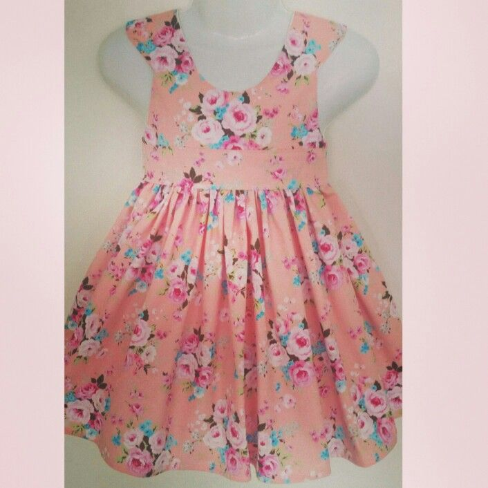 Tea Party Dress size 3 using a Tadah Pattern