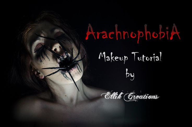 Arachnophobia - Makeup Tutorial | Ellik Creations