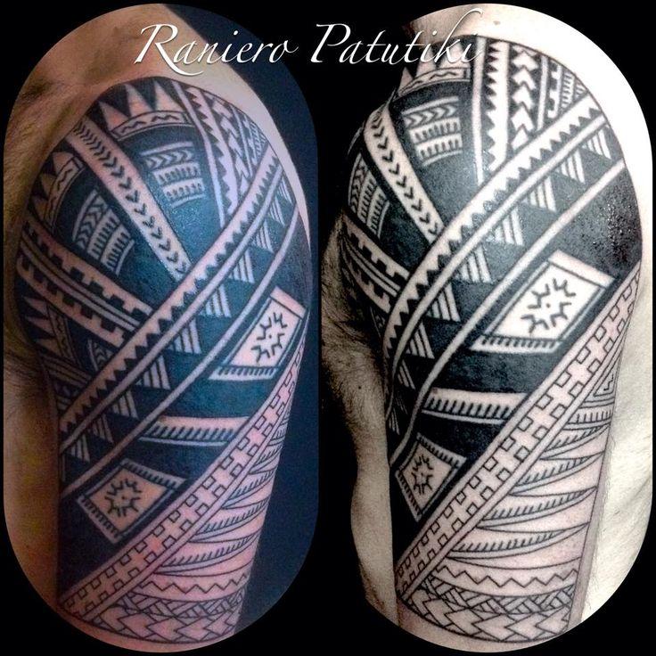 Samoa work in progress Free hand Black: Polynesian Ink  Tatuaggio Etnico http://www.subliminaltattoo.it/prodotto.aspx?pid=02-TATTOO&cid=18  #subliminaltattoofamily #ranieropatutiki #tattooartist #tatuaggiosamoano #tatuaggitribali #tribaltattoo #polynesiantattoo #polynesianink