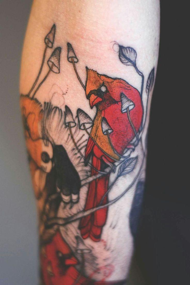 Best Anatomy Tattoos Images On Pinterest Anatomy Tattoo - Polish artist creates elegant animal tattoos finished in vibrant colours