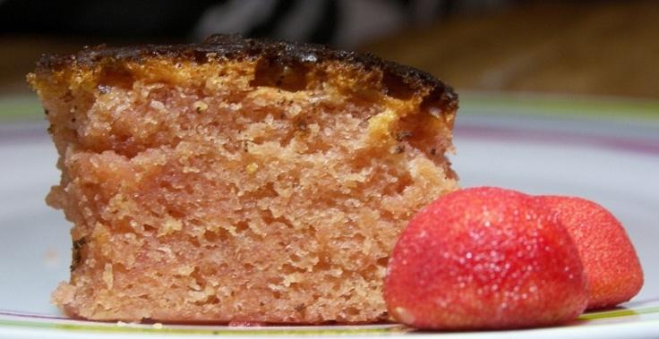 gateau fraises tagada !