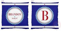 Brandon Monogram Cushionhttp://www.colourandspice.net.au/#!product/prd3/977386894/brandon-monogram-cushion