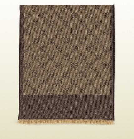 Bufanda diseño GG - Gucci