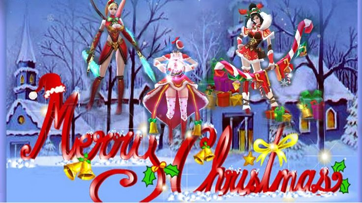 Merry christmas mobile legends bang bang