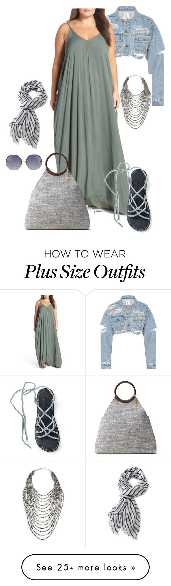 """""""You know what I'm like- plus size"""" by gchamama on Polyvore featuring Marina Rinaldi, ELAN, Michael Kors, Linda Farrow, L.L.Bean and plus size dresses"""
