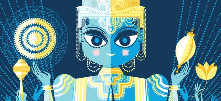 The Little Book of Hindu Deities: From the Goddess of Wealth to the Sacred Cow ... from Pixar animator, Sanjay Patel.