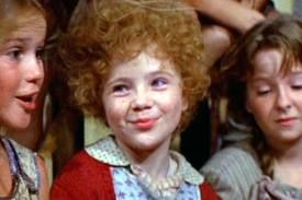 Annie!  I remember seeing it in the theatre when it first came out.  I used to have the Annie board game- it was awesome.