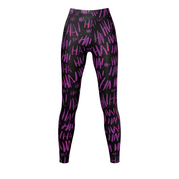 Leggings - Gender-bent Joker Cosplay  - size M