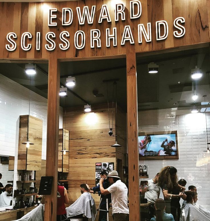 Cladding and shelving at the Edward Scissorhands Barber in South Melbourne. Design / photo shoot by @taylorpresslyarchitects.  http://www.timberrevival.com.au  https://www.instagram.com/timberrevival/  #timberrevival #recycledtimbermelbourne #architecturaltimber #timbercladding #retaildesign #commercialarchitecture #commercialdesign #wemakeoldtimbernew
