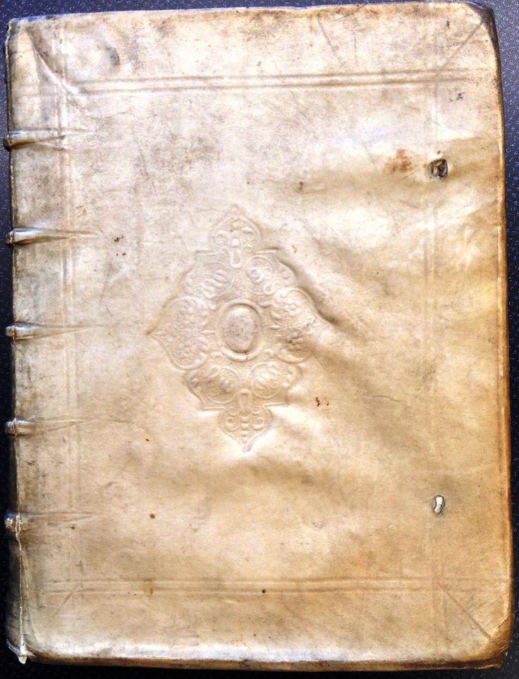 Controversiarum juris libri tredecim (1678) in contemporary vellum with embossed ornaments