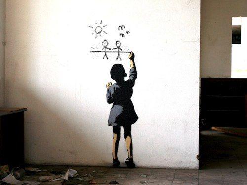 http://www.smosh.com/smosh-pit/photos/banksy-worlds-most-famous-graffiti-artist  Banksy