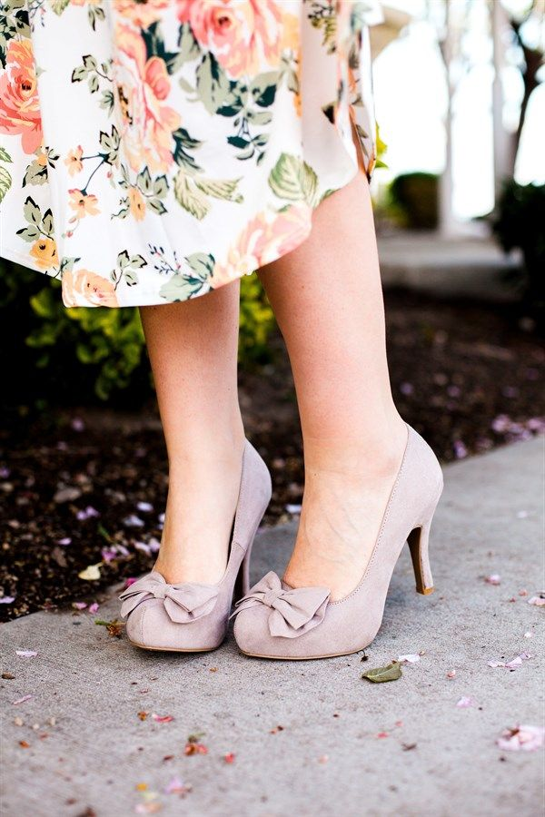 3 Inch Bow Heels | 3 Colors