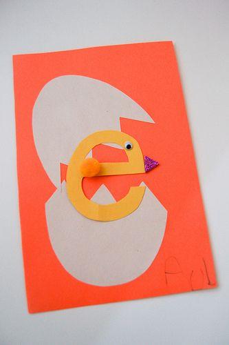 64 best Letter E Crafts images on Pinterest