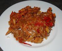 Surinaams eten!: Surinaamse hete makreel voor op een broodje