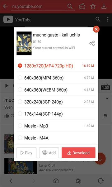 app android download video