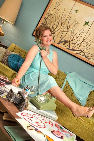 Marcie McLean's enthusiasm for vintage style, background in graphic design and passion for helping women has caught the attention of one of the biggest media outlets in the US; the LA Times has offered her a deal to create a vintage/pin-up calendar using homeless women in the LA area as her models.
