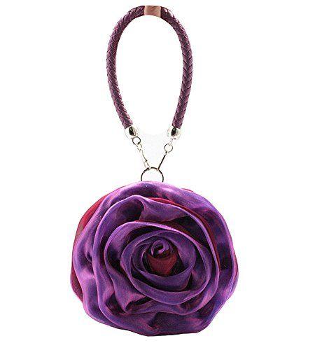 MissFox Women's Cute Flowers Decoration Handbag Clutches Evening Bag - http://handbags.kindle-free-books.com/missfox-womens-cute-flowers-decoration-handbag-clutches-evening-bag/