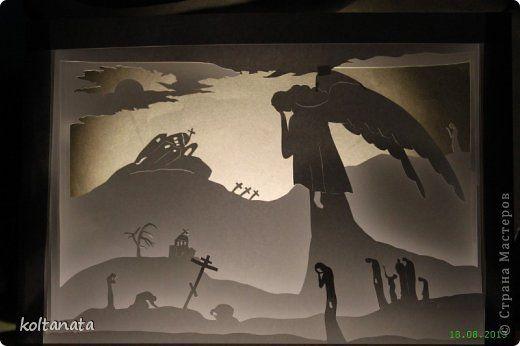 Поделка изделие День Победы Бумажный туннель Бумажный туннель-иллюстрация к поэме Слово о полку Игореве Бумага