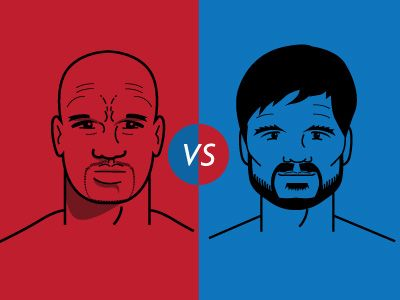 Mayweather vs Pacquiao by Damian Allende