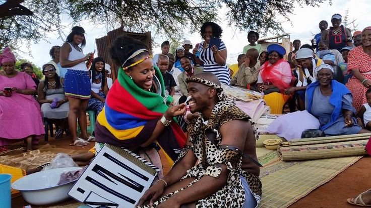 I'm overwhelmed with tears of joy as I go through our wedding pictures. Both our white and traditional wedding were the most beautiful!!! I blushed throughout. The elders were beyond happy. I'm a very proud Makoti right now. I love my guy @mncube. Ndebele meets Zulu