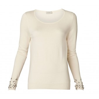 Beaded Cuff Knit - Tops - Her - Witchery
